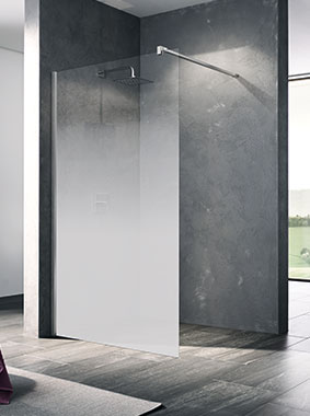 Kermi WALK-IN XB Wall mit Dekor Stripe 3