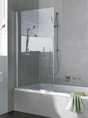 Spritzschutz Badewanne Glas