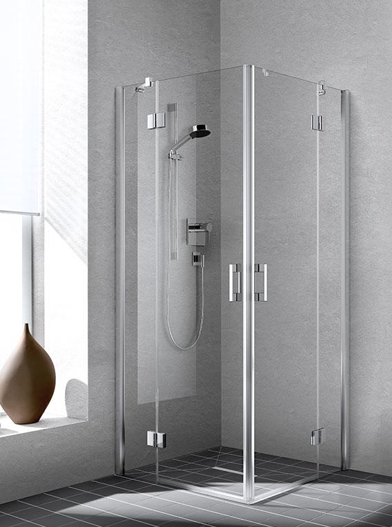 kermi duschkabine liga pendeltr mit seitenwand - Dusche Pendeltur Schwingtur
