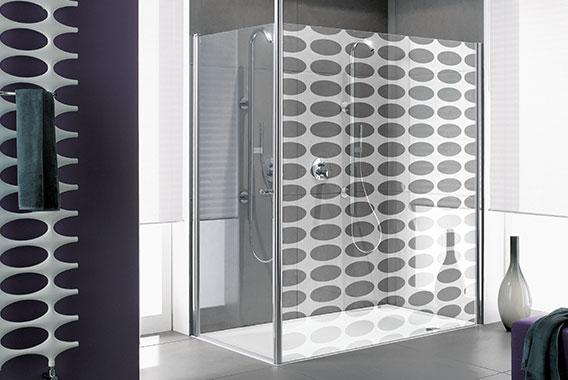 duschkabinen von kermi aus liebe zum duschen kermi. Black Bedroom Furniture Sets. Home Design Ideas